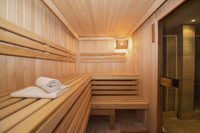 Construire un sauna