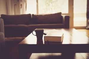 Canapé et table basse