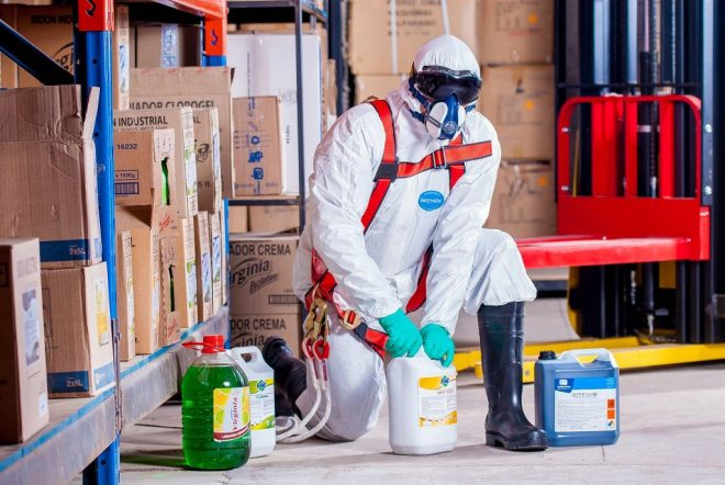 Conditionnement de produits chimiques