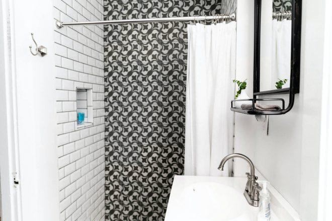 nettoyer facilement un rideau de douche